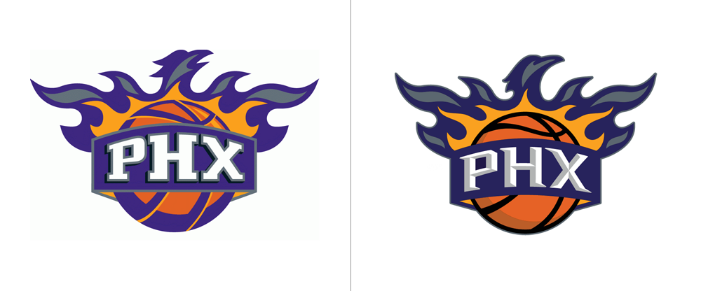 New Logos for the Phoenix Suns by Fisher