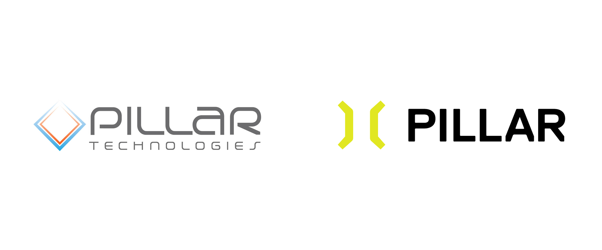 New Logo and Identity for Pillar Technologies by Siren