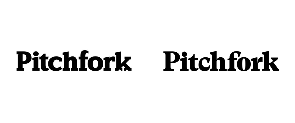 New Logo for Pitchfork by Grilli Type