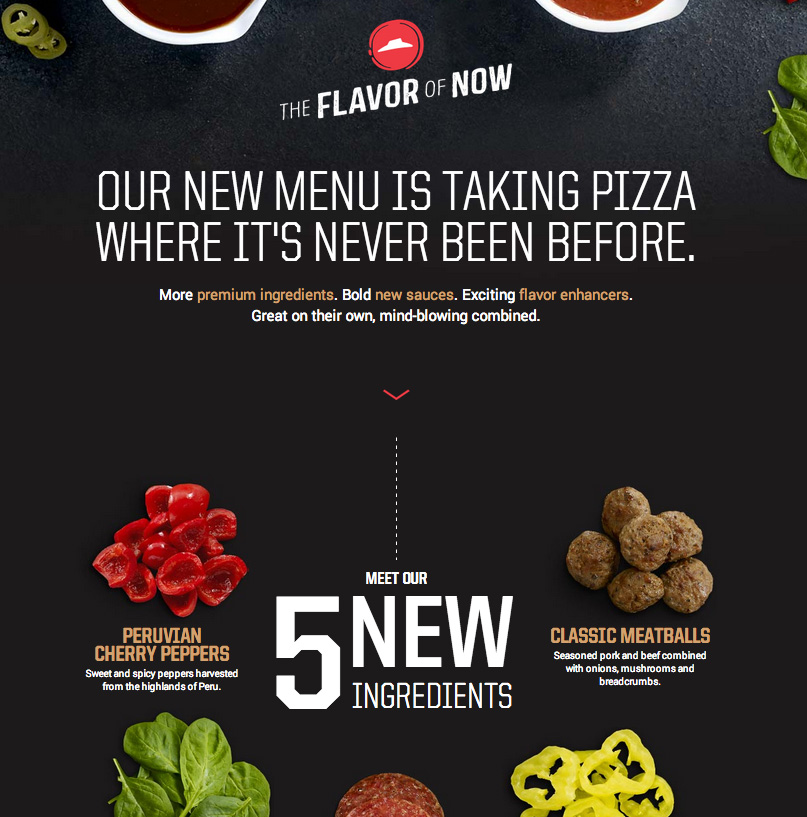 New Logo and Identity for Pizza Hut by Deutsch LA