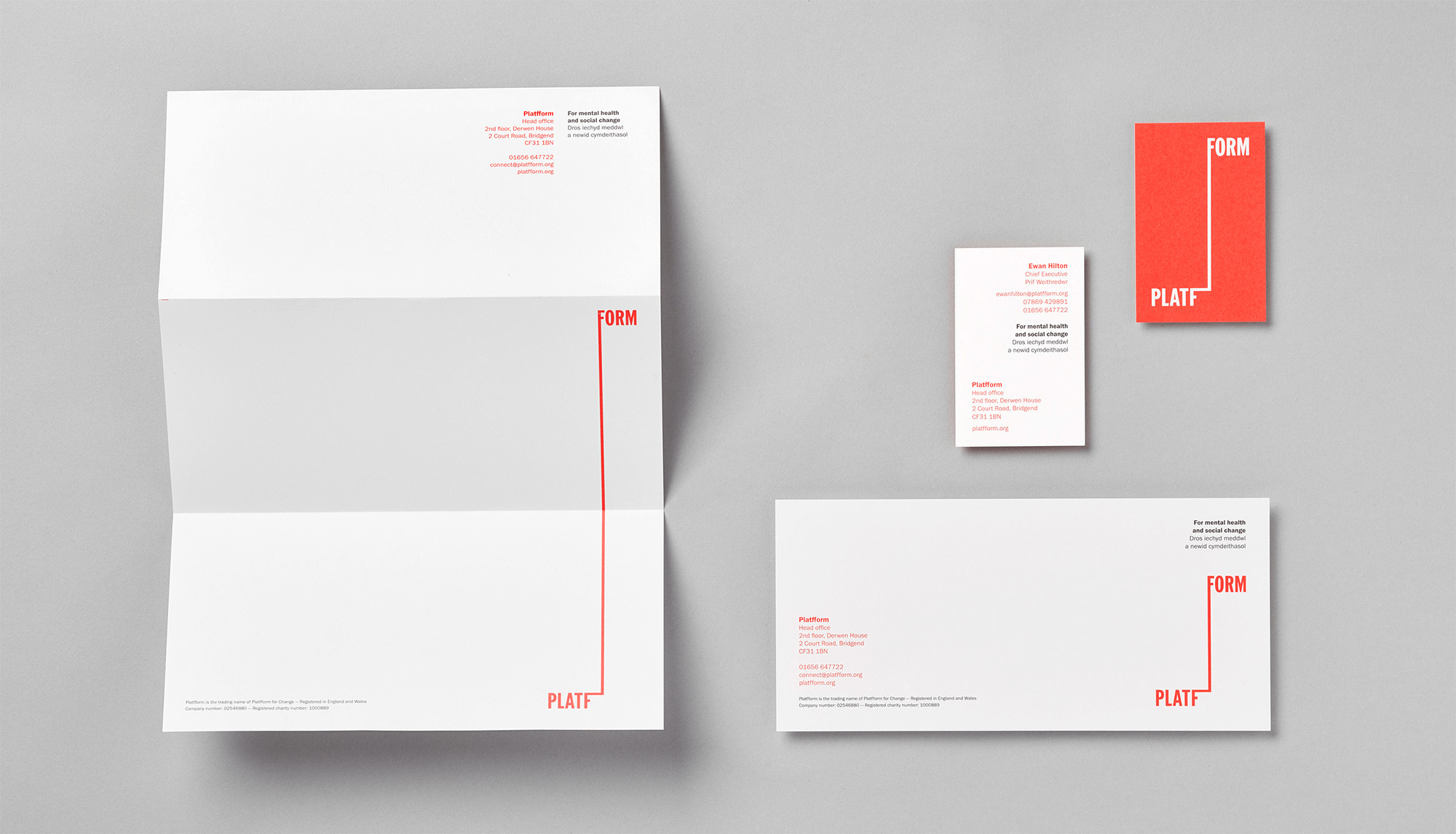 New Logo and Identity for Platfform by Clout