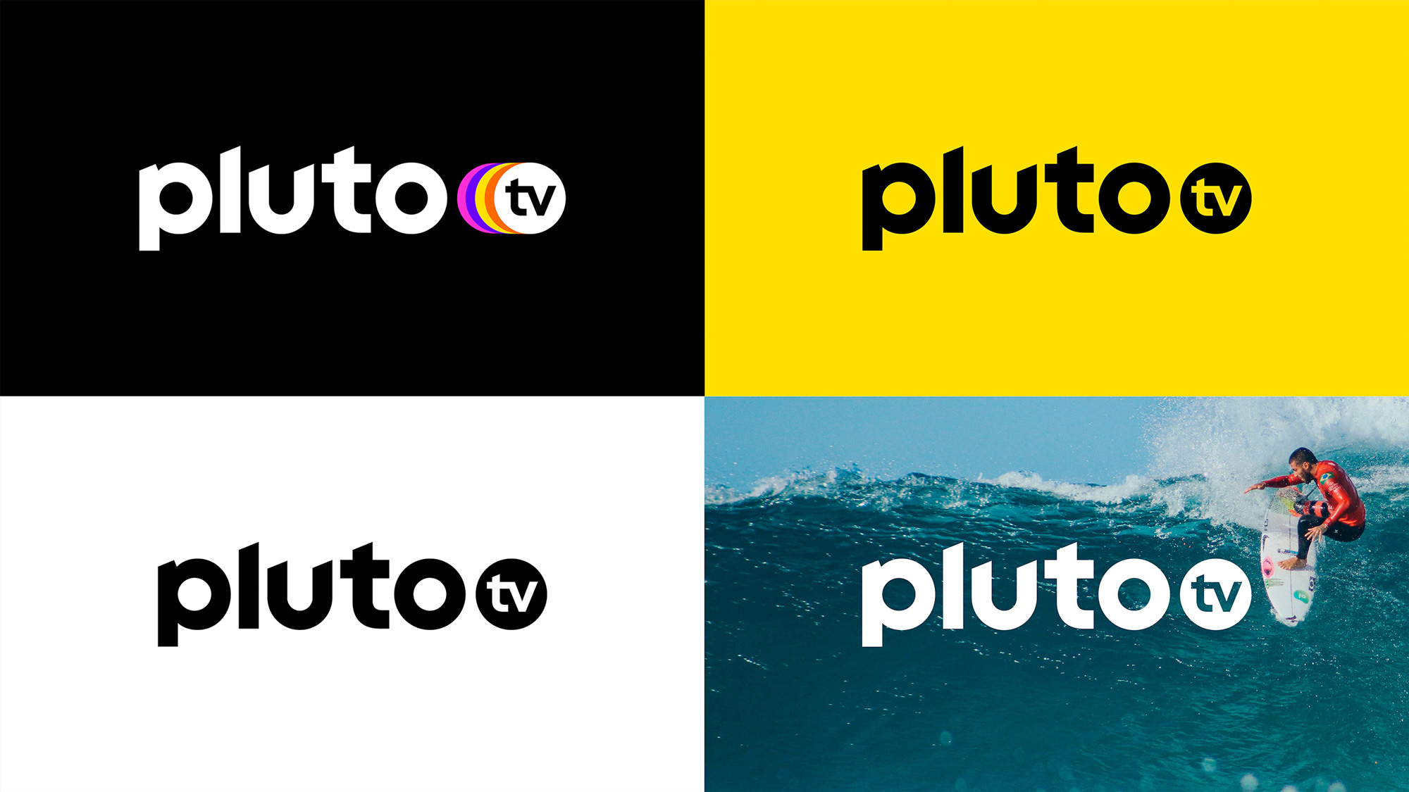 New Logo, Identity, and On-air Look for Pluto TV by DixonBaxi