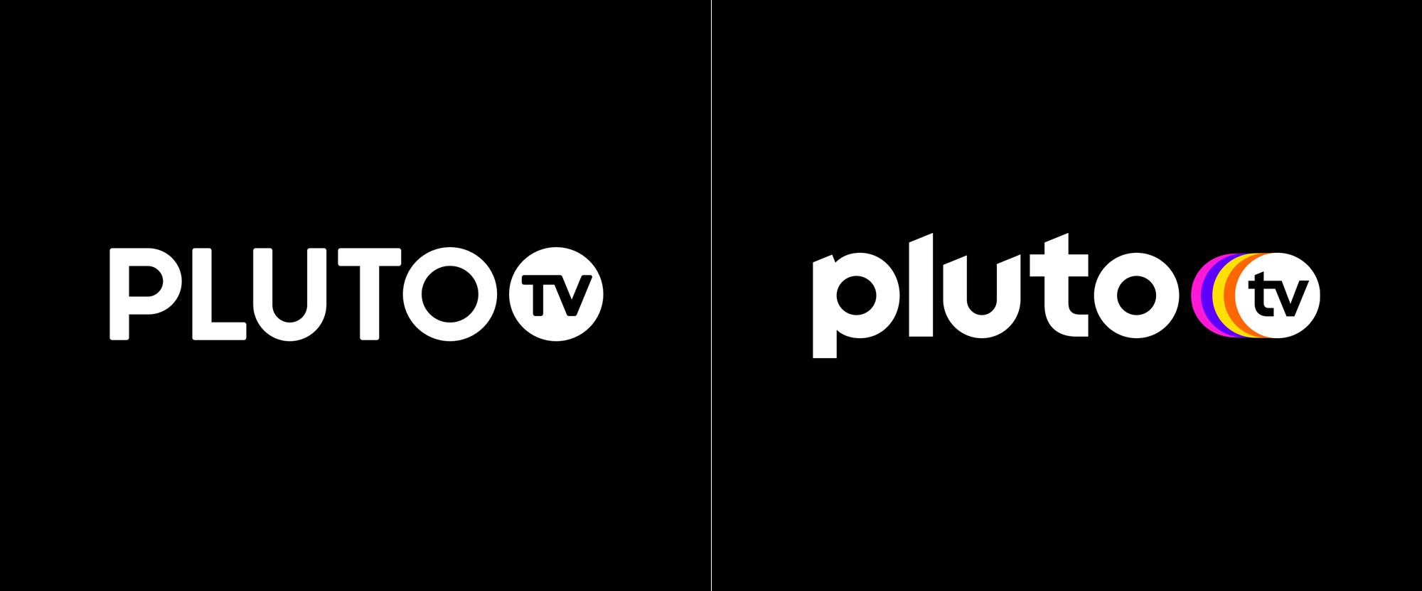 New Logo for Pluto TV