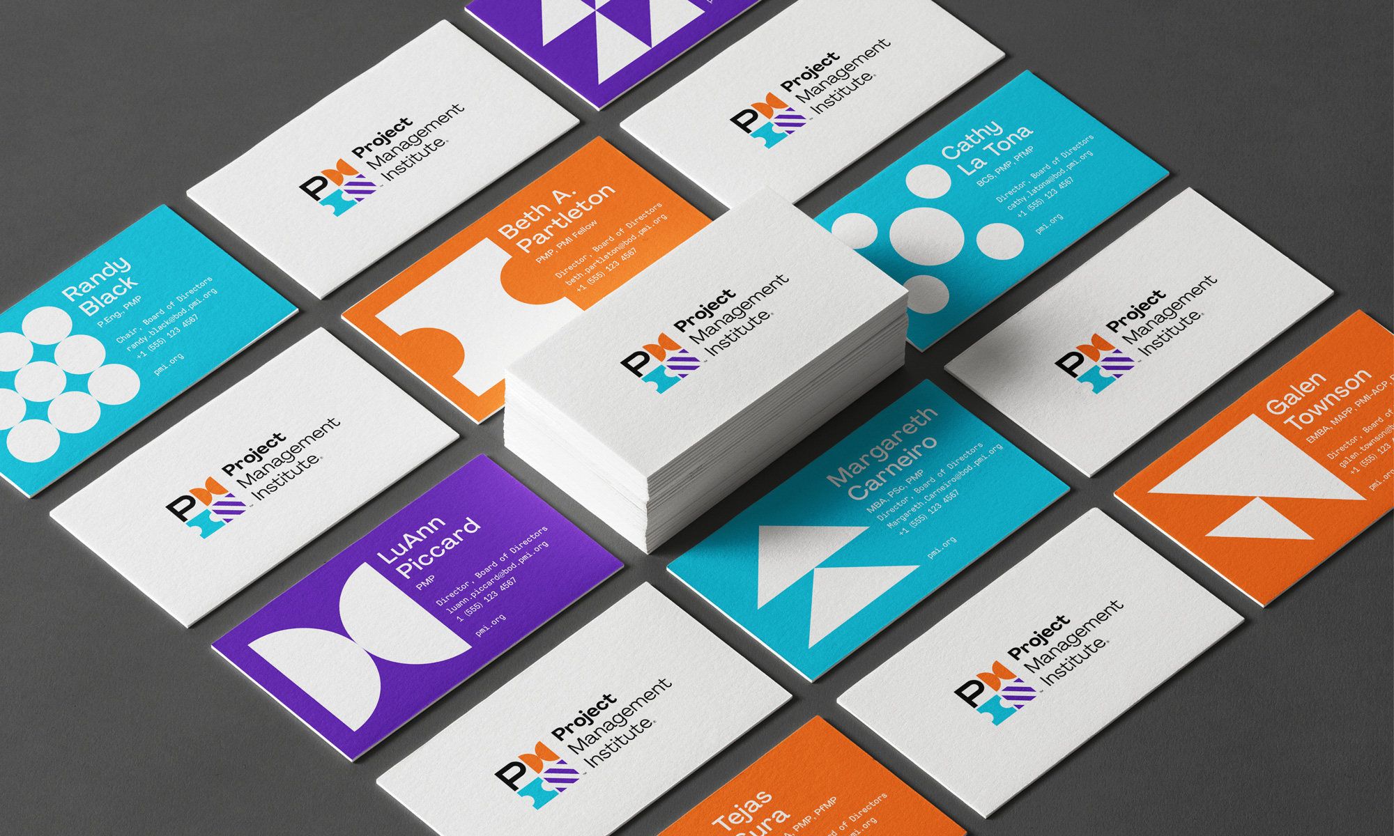 New Logo and Identity for Project Management Institute by Superunion