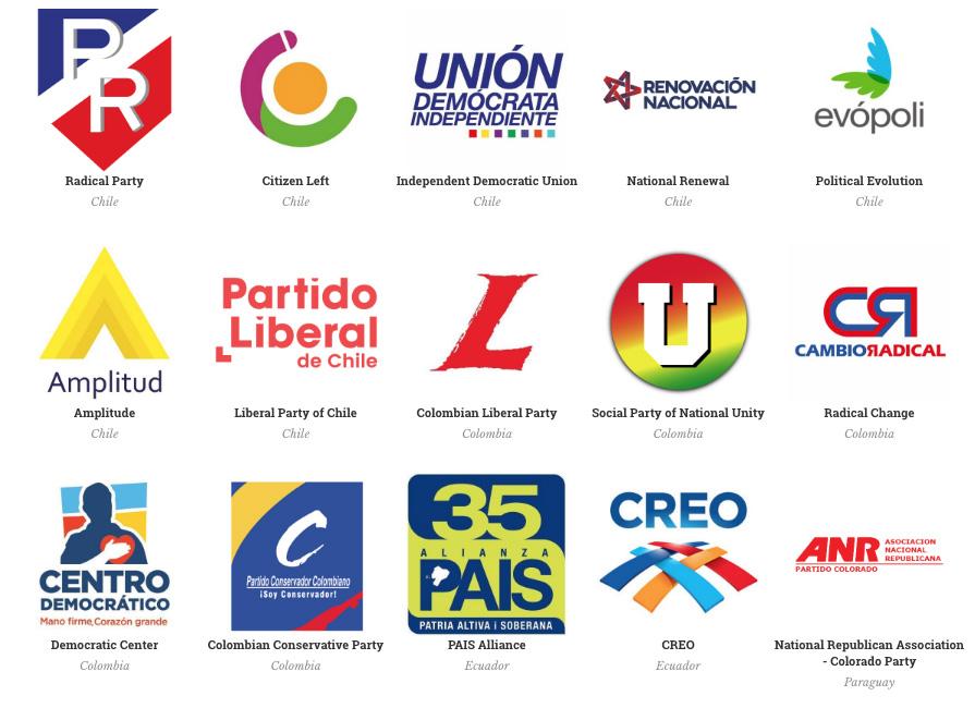 brand new political logos
