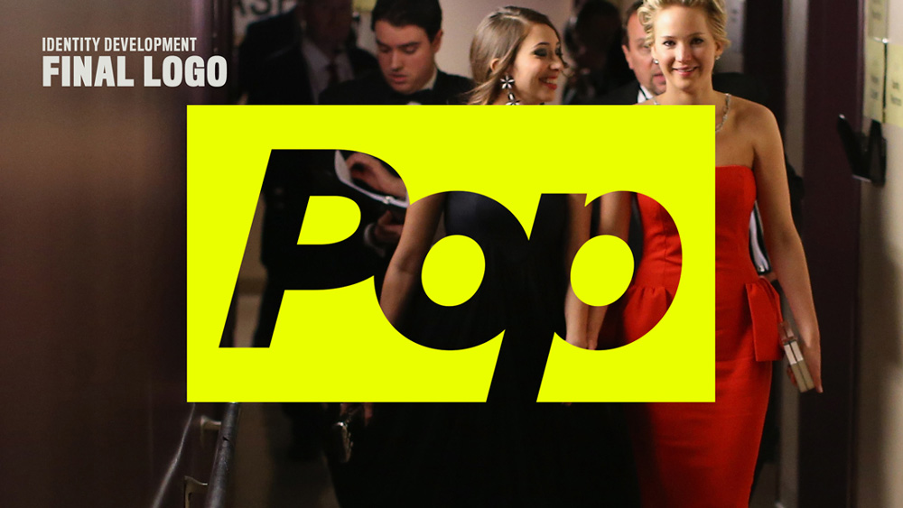New Name, Logo, and On-air Look for Pop by loyalkaspar