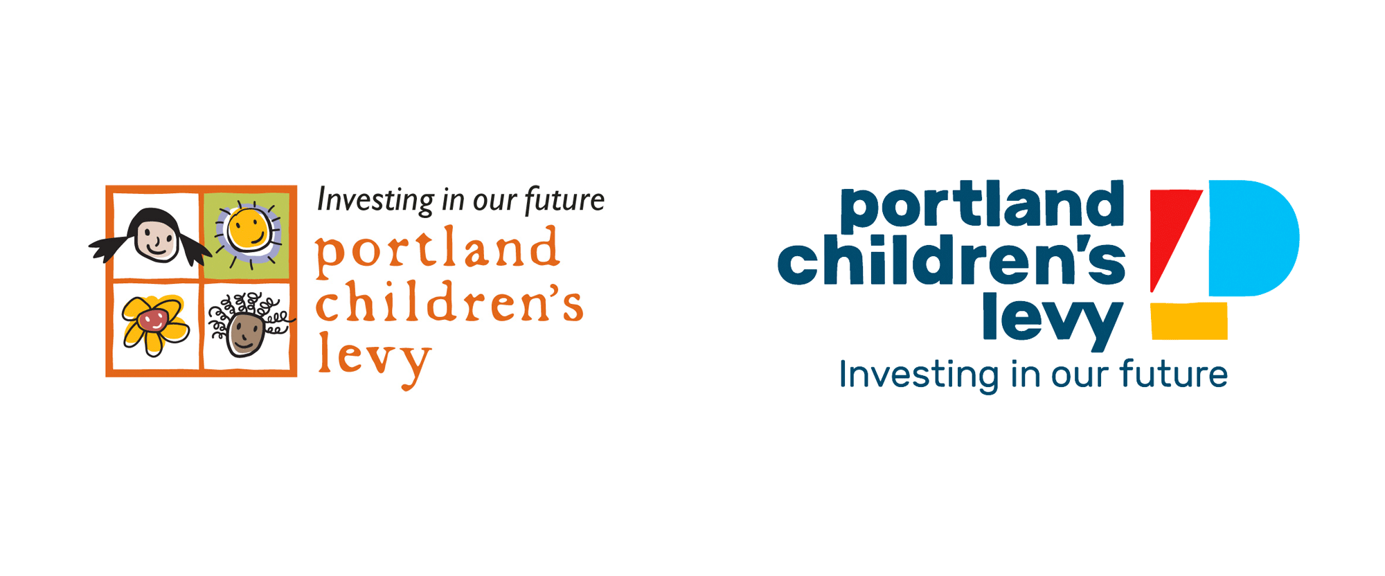 New Logo and Identity for Portland Children's Levy by Madison Ave. Collective