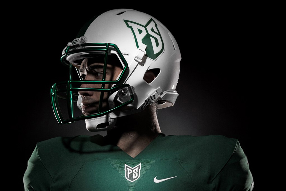 brand new  new logos and uniforms for portland state