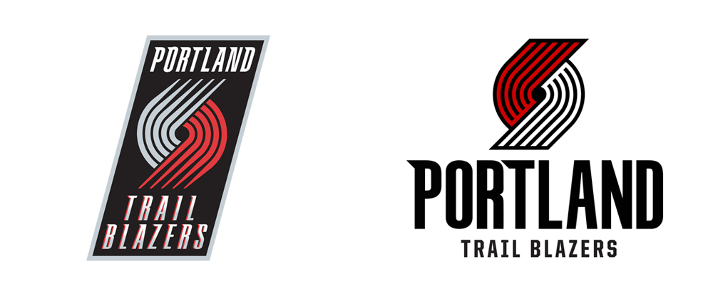 New Logo for Portland Trail Blazers