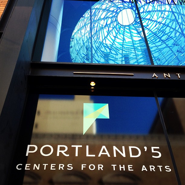 New Logos for Portland'5 Center for the Arts by Sockeye Creative