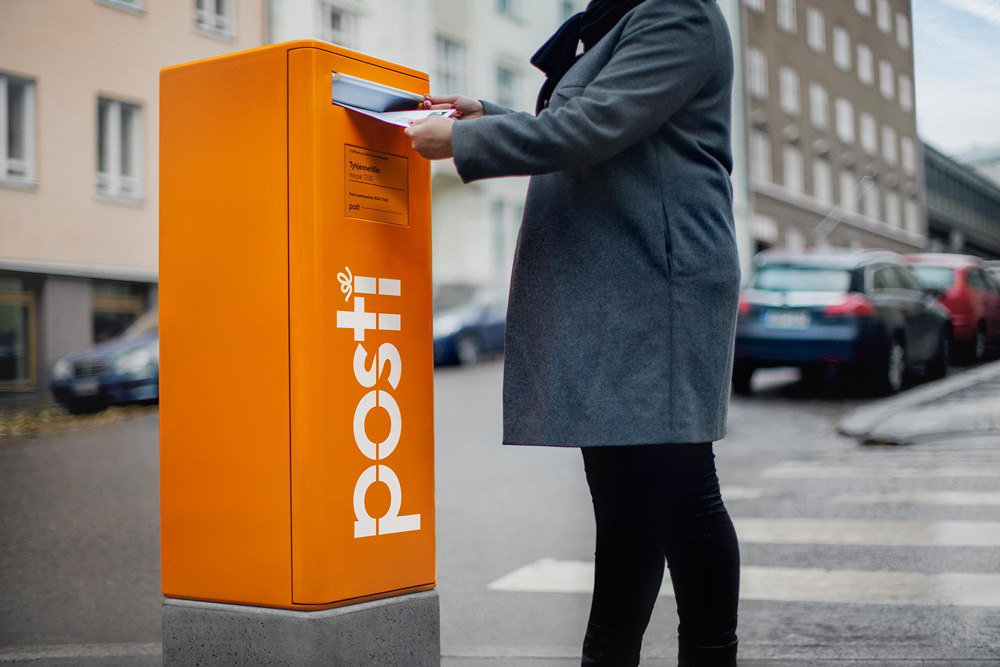 New Logo and Identity for Posti by N2 Nolla
