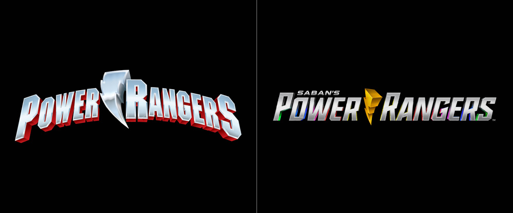 New Logo for Power Rangers
