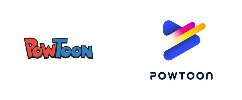 New Logo for PowToon done In-house