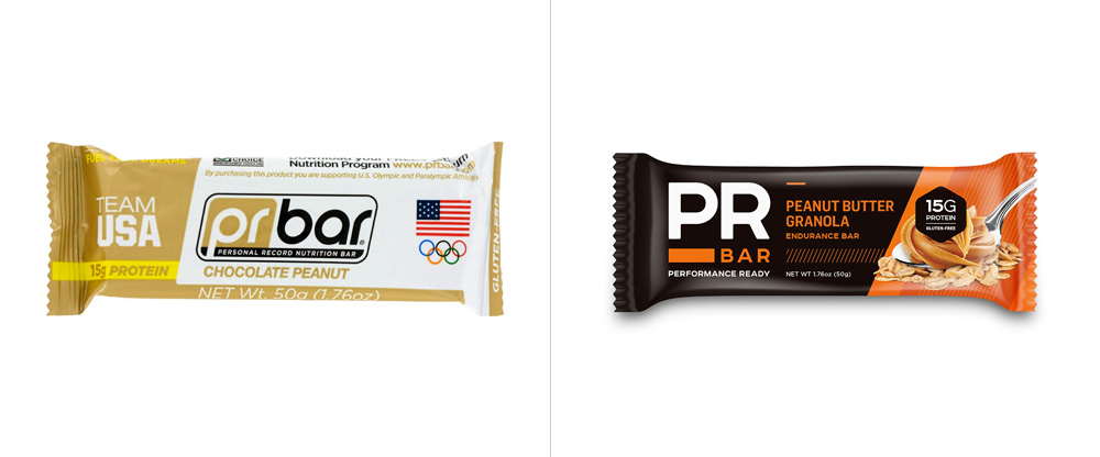 New Logo and Packaging for PR Bar by Traina