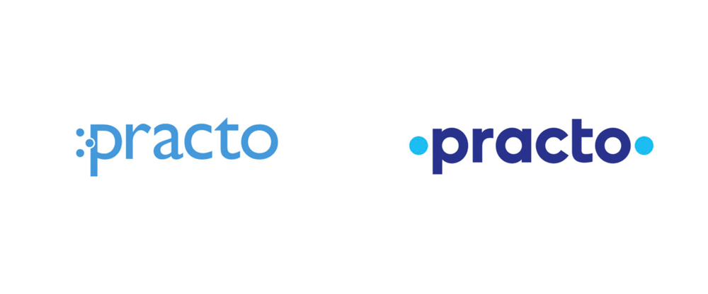 New Logo for Practo by Chermayeff & Geismar & Haviv