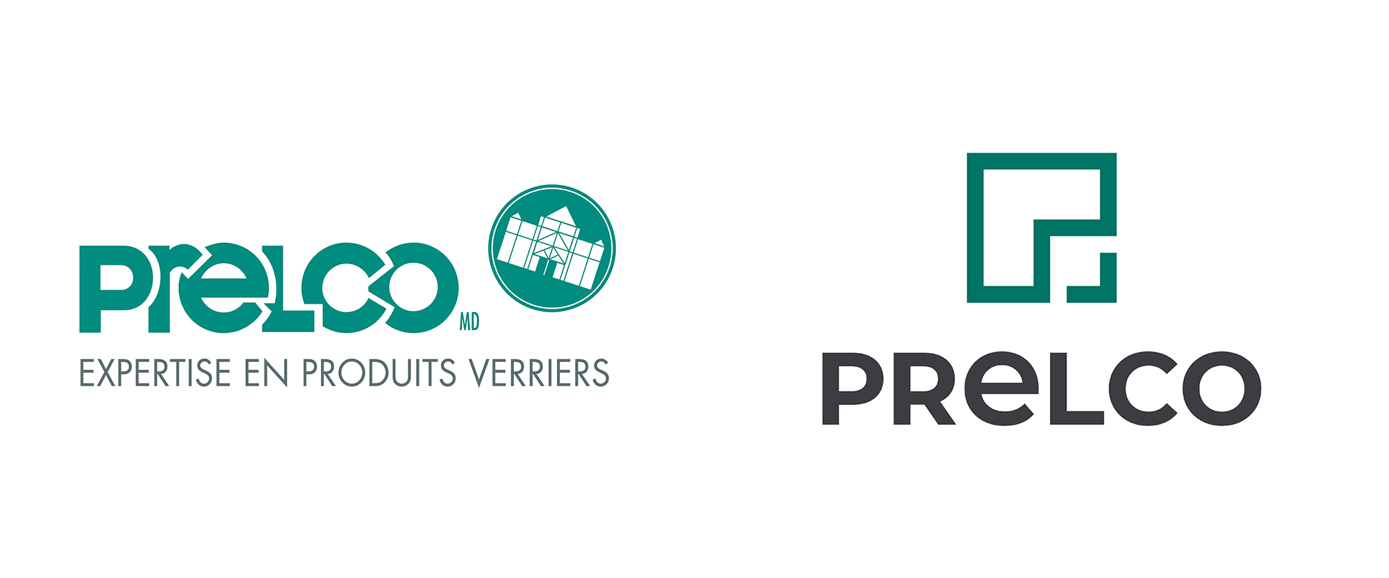 New Logo and Identity for Prelco by Phosphore