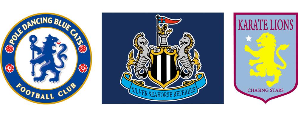 Literal Premier League Logos