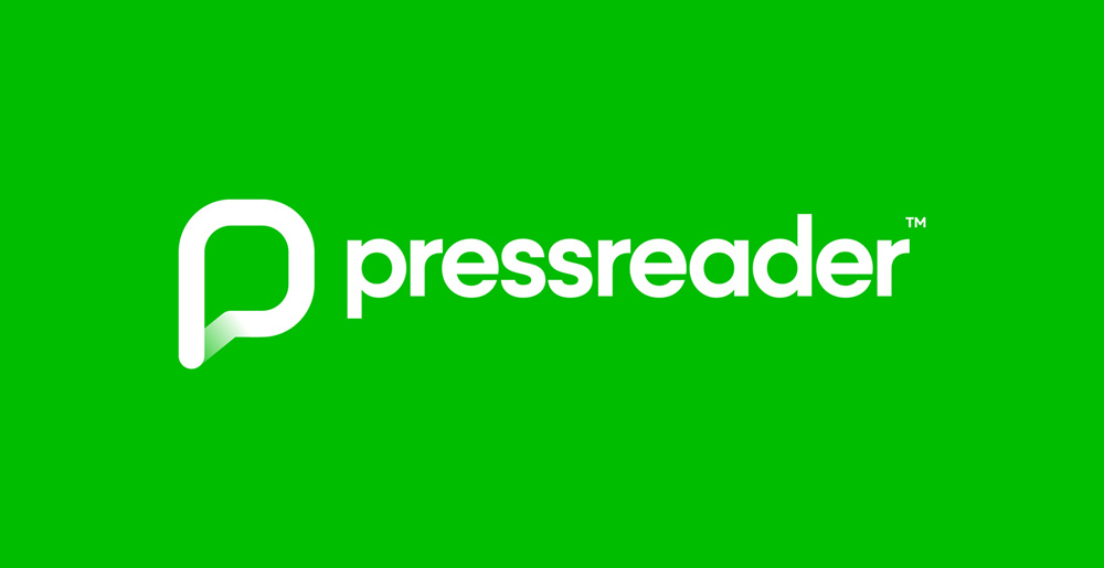 New Logo and Identity for PressReader done In-house