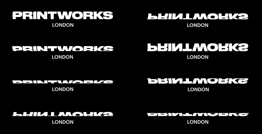 New Logo and Identity for Printworks by Only