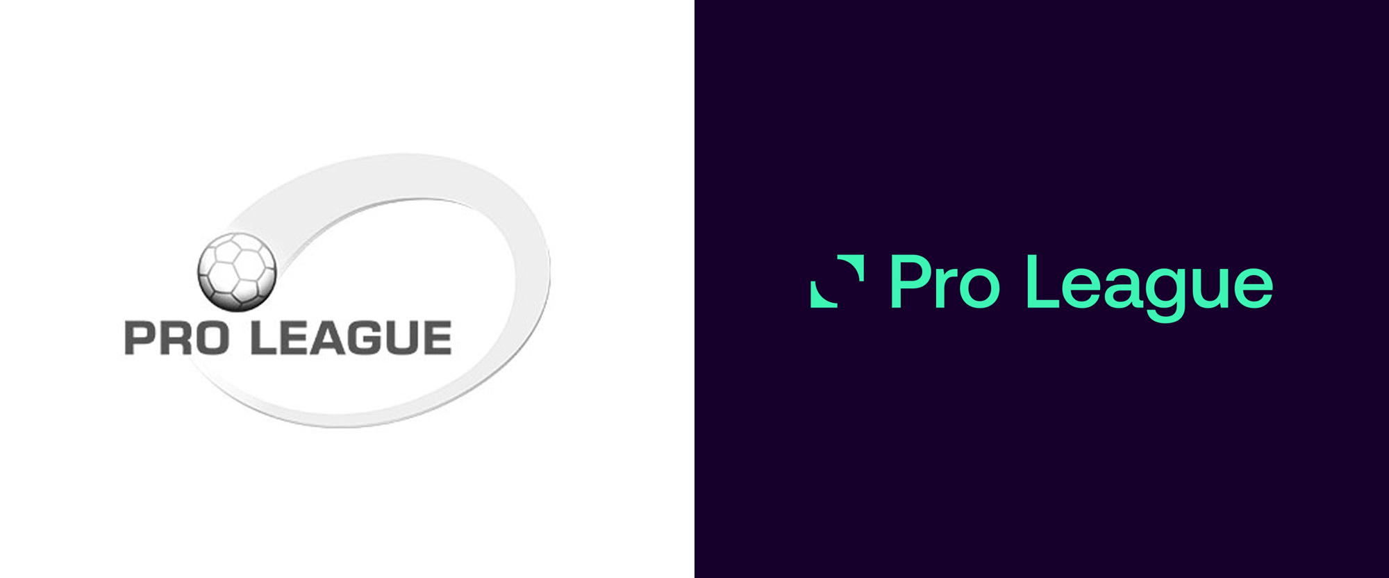 Brand New New Logo And Identity For Belgian Pro League By Mirror Mirror