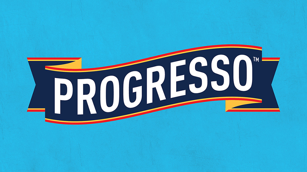New Logo and Packaging for Progresso by Hornall Anderson