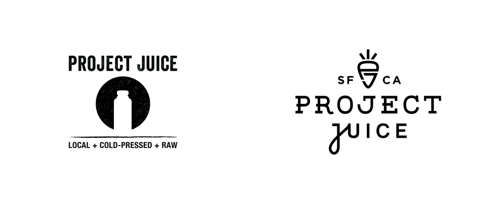 brand new new logo and packaging for project juice by chen design associates project juice by chen design associates