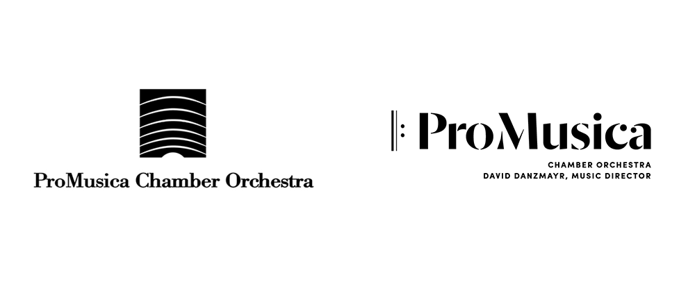New Logo and Identity for ProMusica Chamber Orchestra by Ologie