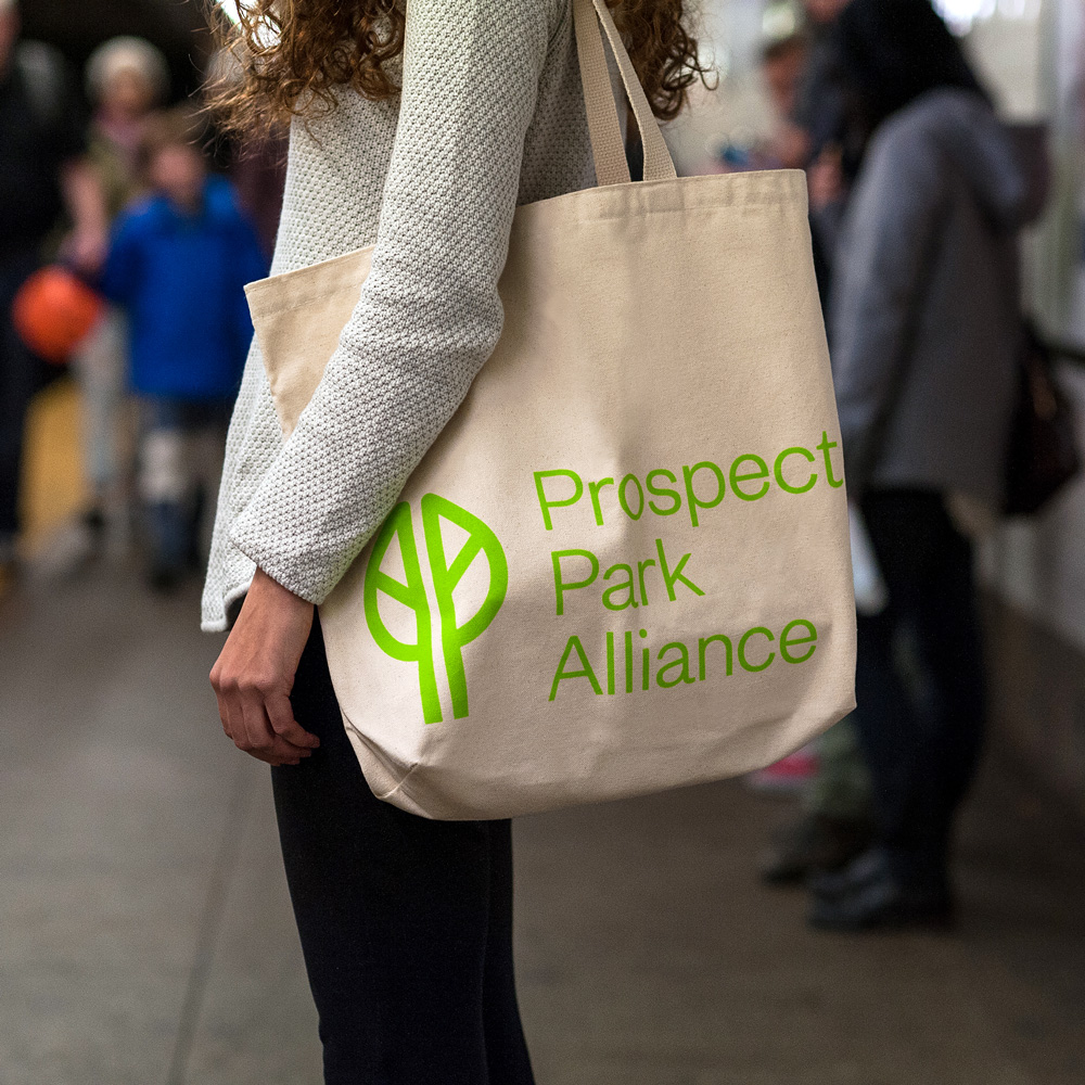 New Logo and Identity for Prospect Park Alliance by OCD