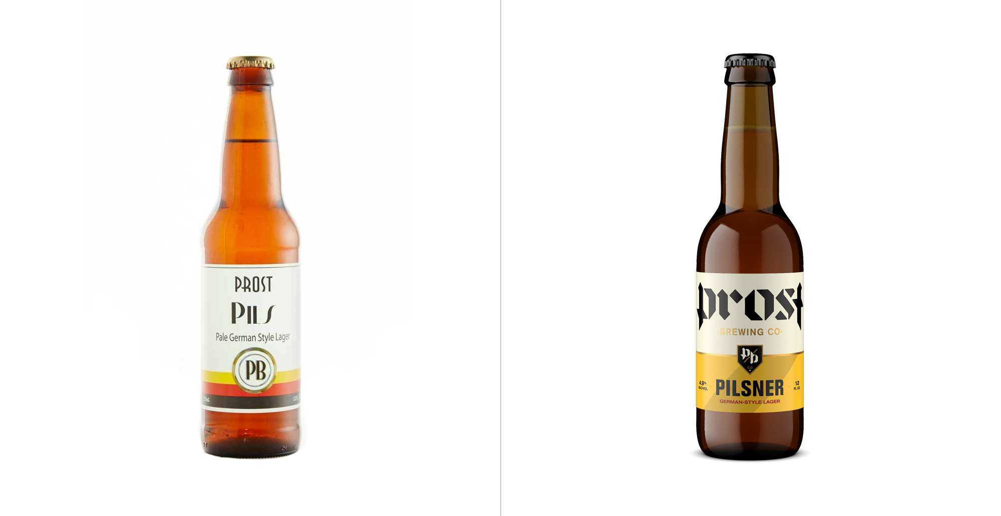 New Logo, Identity, and Packaging for Prost Brewing by CODO