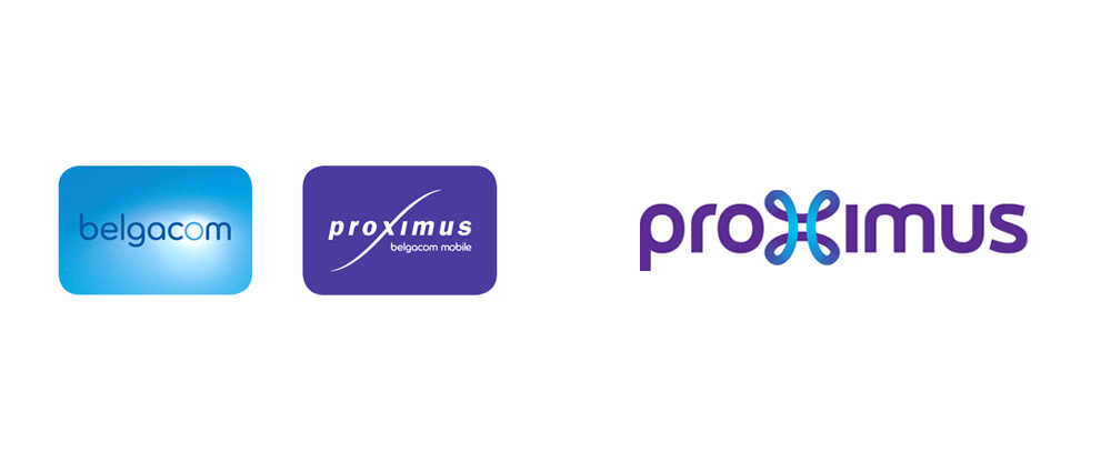 New Logo and Identity for Proximus by Saffron