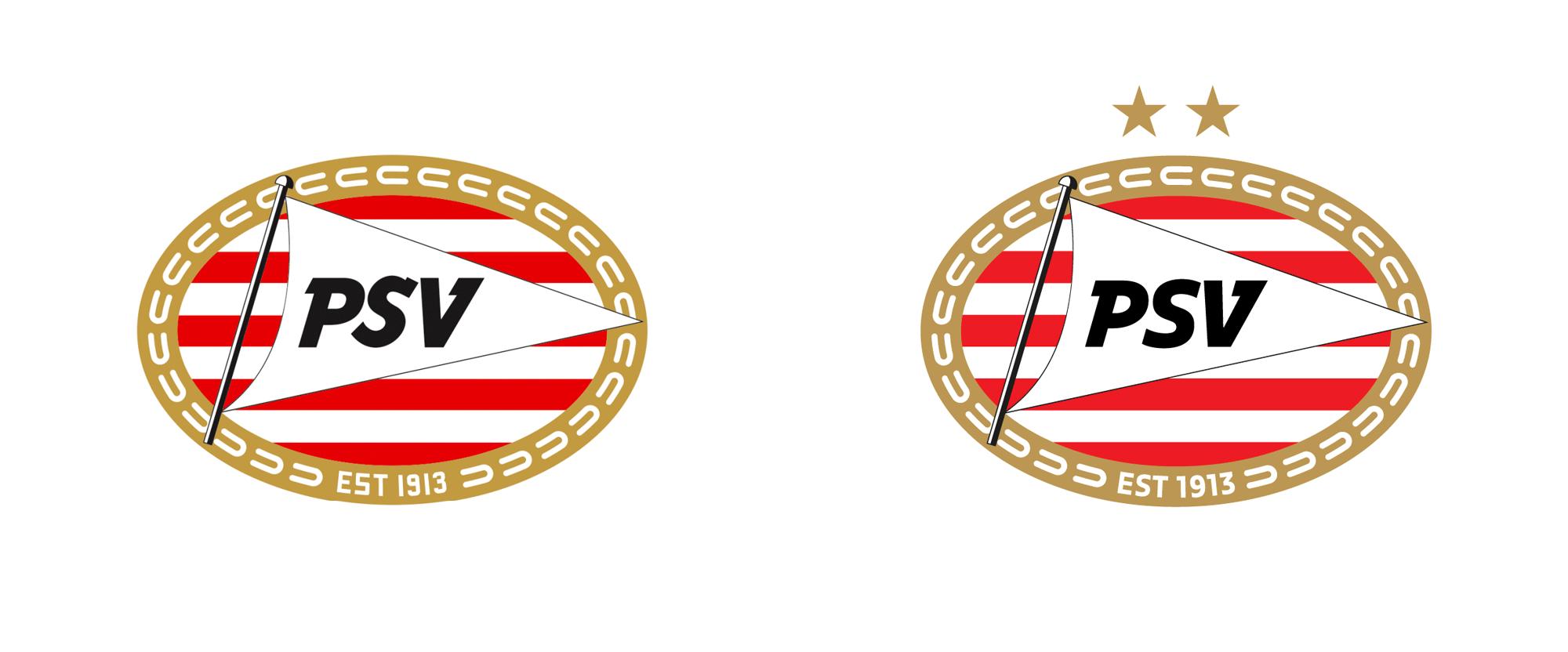 New Logo for PSV Eindhoven