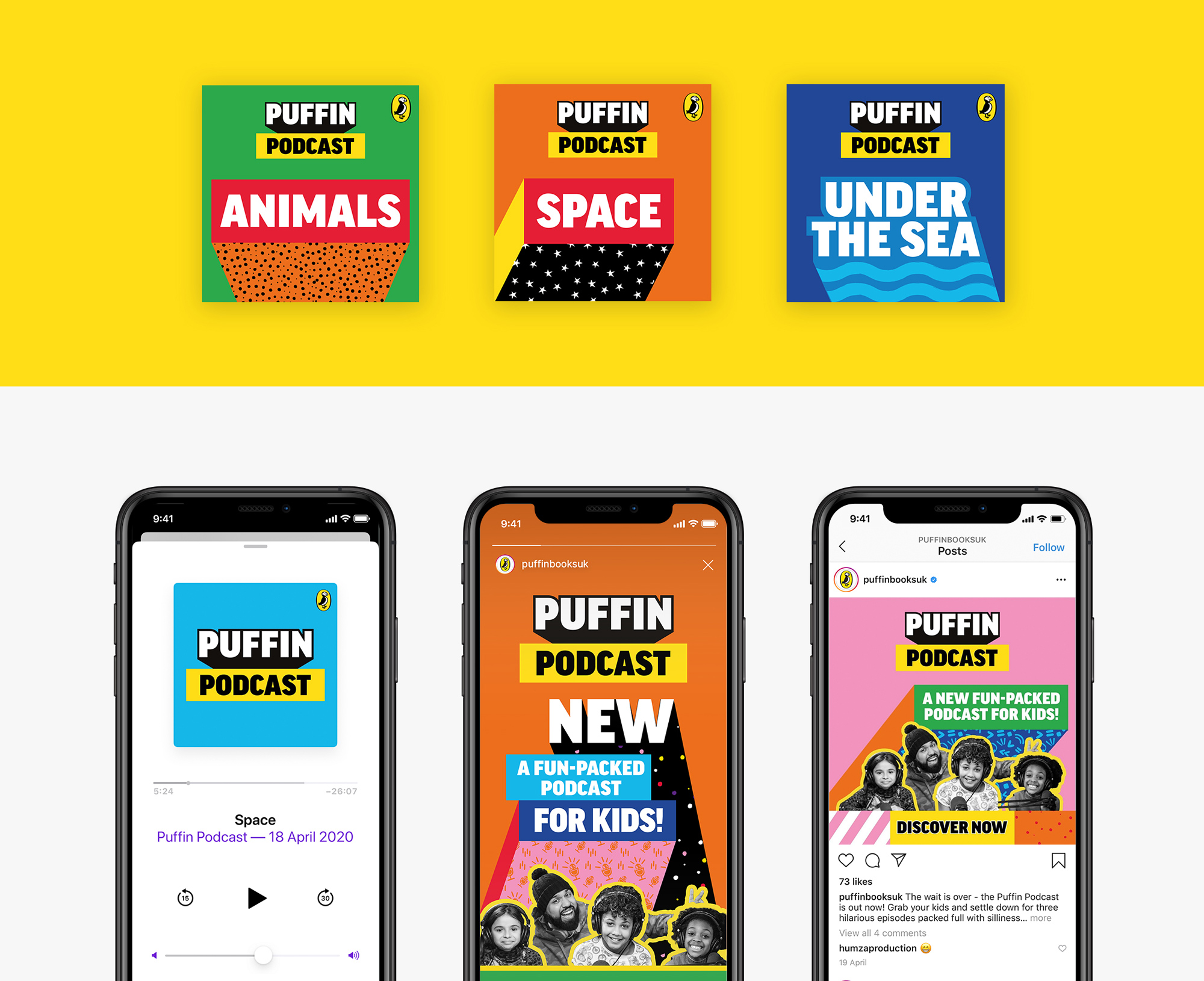 New Identity for Puffin by Crush Creative