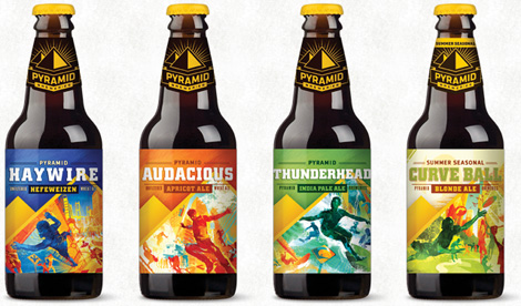 Pyramid Breweries Bottles, New