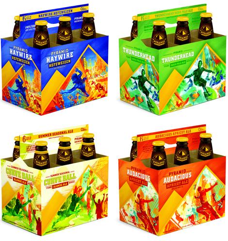 Pyramid Breweries Packs, New