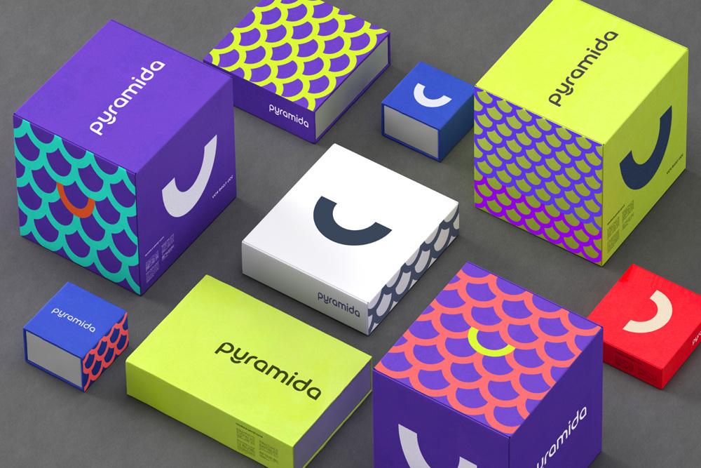 New Logo and Identity for Pyramida by Reynolds & Reyner