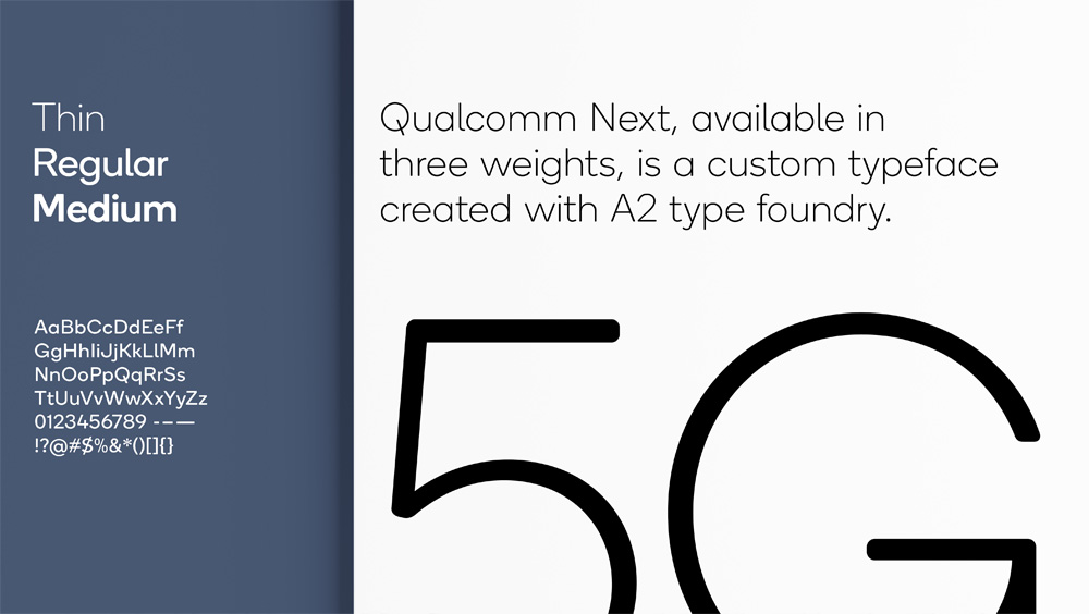 New Logo and Identity for Qualcomm by Interbrand