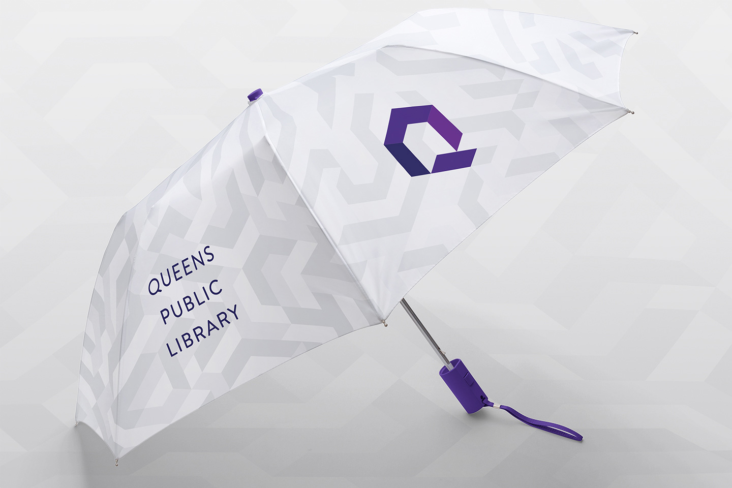 New Logo and Identity for Queens Public Library by Doublespace