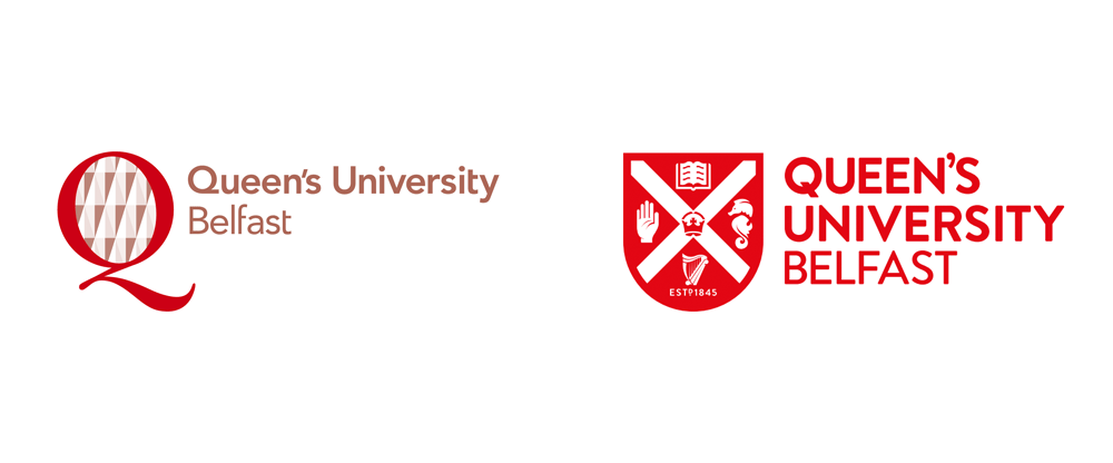 New Logo for Queen's University Belfast