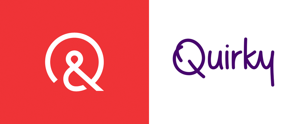 New Logo for Quirky (Again) done In-house