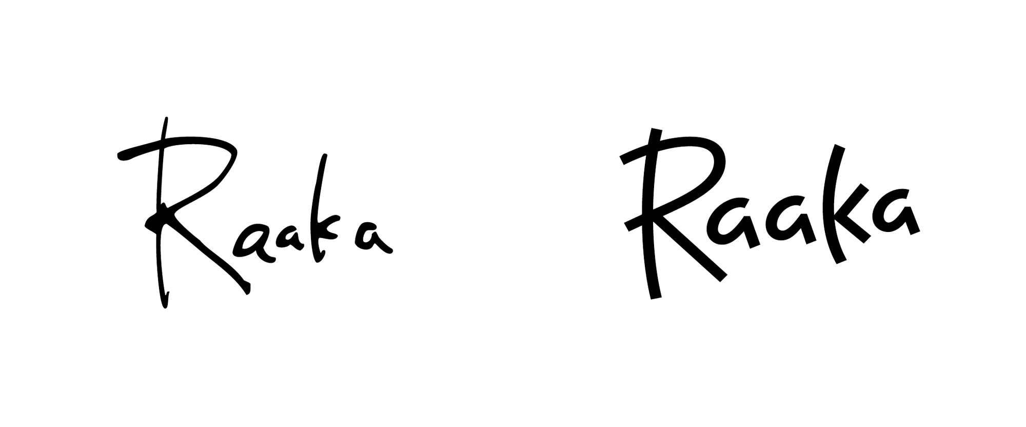 New Logo and Packaging for Raaka by Andrea Trabucco-Campos and Simon Blockley