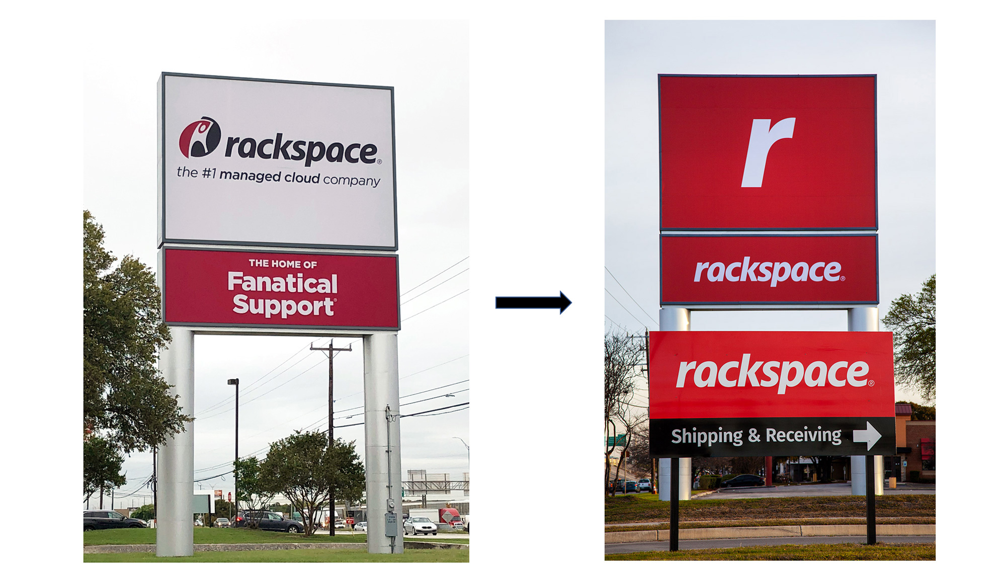 New Logo and Identity for Rackspace by Havas