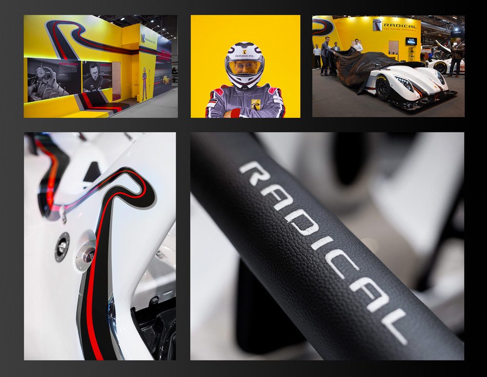 New Logo and Identity for Radical Sportscars by The Allotment