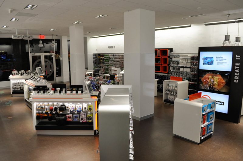 Brand New New Logo And Retail Concept For Radioshack