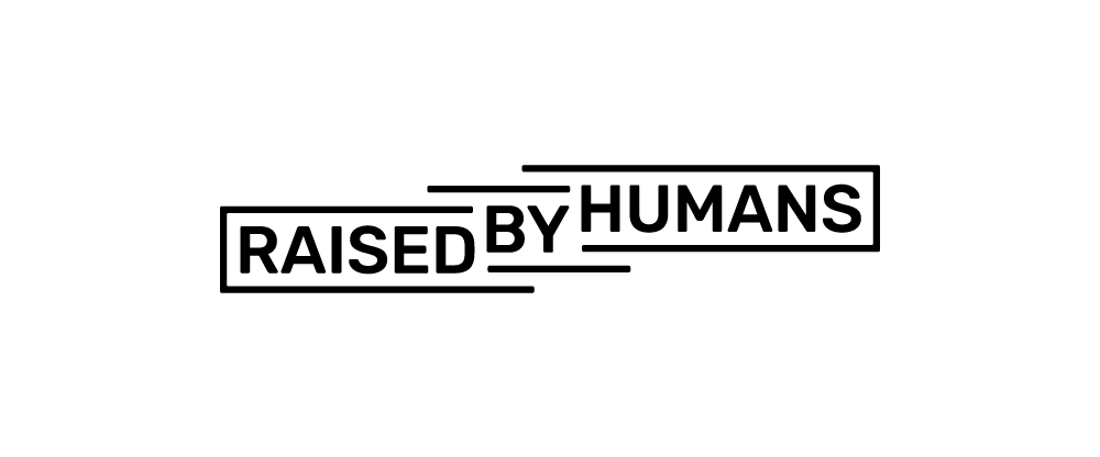 New Logo for Raised by Humans by Zeal