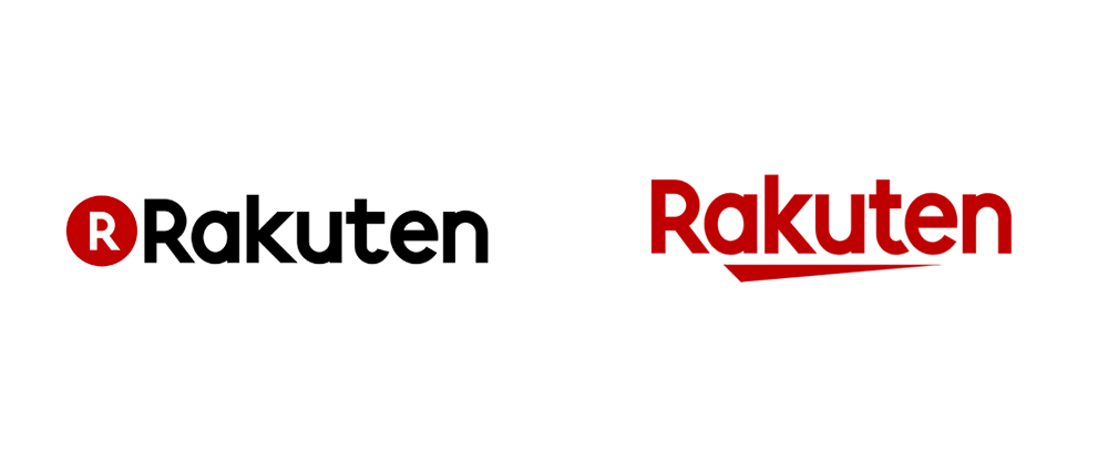 New Logo for Rakuten
