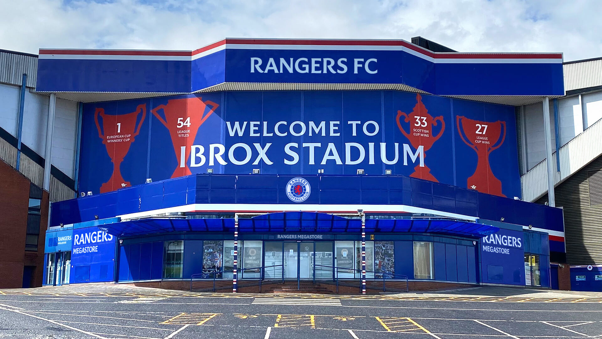 New Logo and Identity for Rangers Football Club by See Saw Creative
