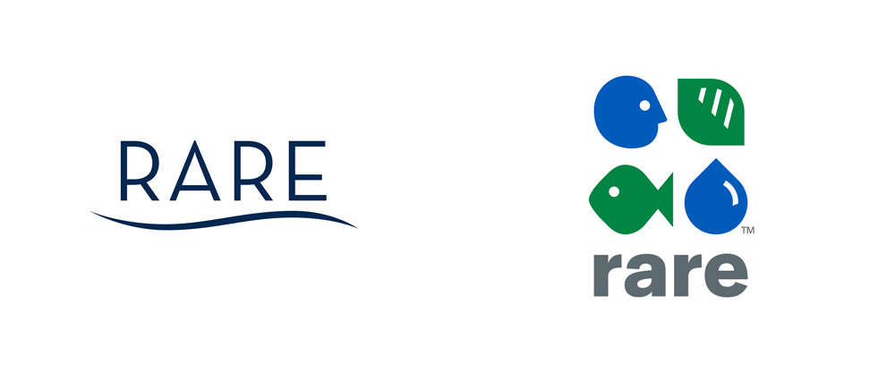 New Logo for Rare by Chermayeff & Geismar & Haviv