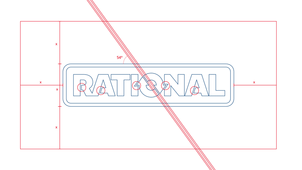 New Logo and Identity for Rational by Neue Formation