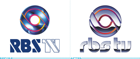 RBS TV Logo, Before and After