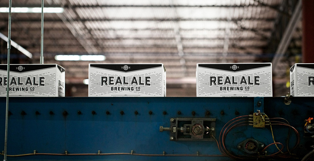 New Logo, Identity, and Packaging for Real Ale Brewing Co. by The Butler Bros.